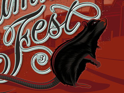 East Summer Fest #3 type typework lettering typography letters artwork design graphic vector illustration east summer fest maztrone graphic design
