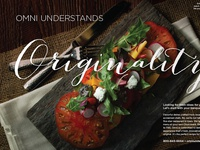 Omni Hotels & Resorts - Group Print campaign