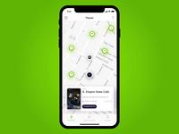 Crypto Cashback App Animation, Restaurants Listing (Wulet)