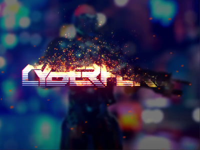 Cyberpunk Game Logo Design