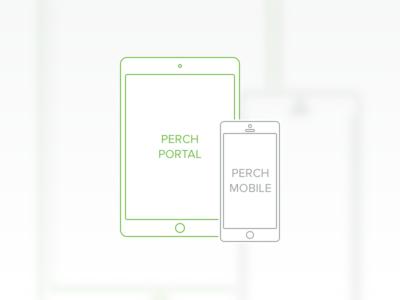 Perch Portal vs Perch Mobile