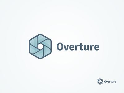 Overture overture aperture brand logo ribbon knot hc