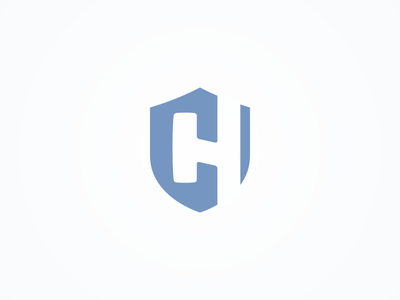 HC Shield secure shield logo concept brand hc