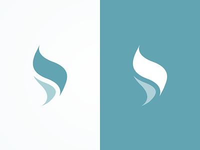 Flame concept logo brand flame