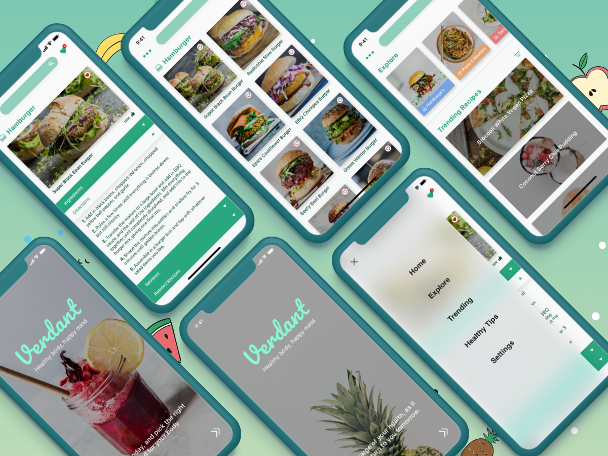 1st recipe app