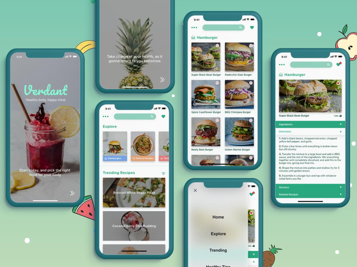 2nd recipe app