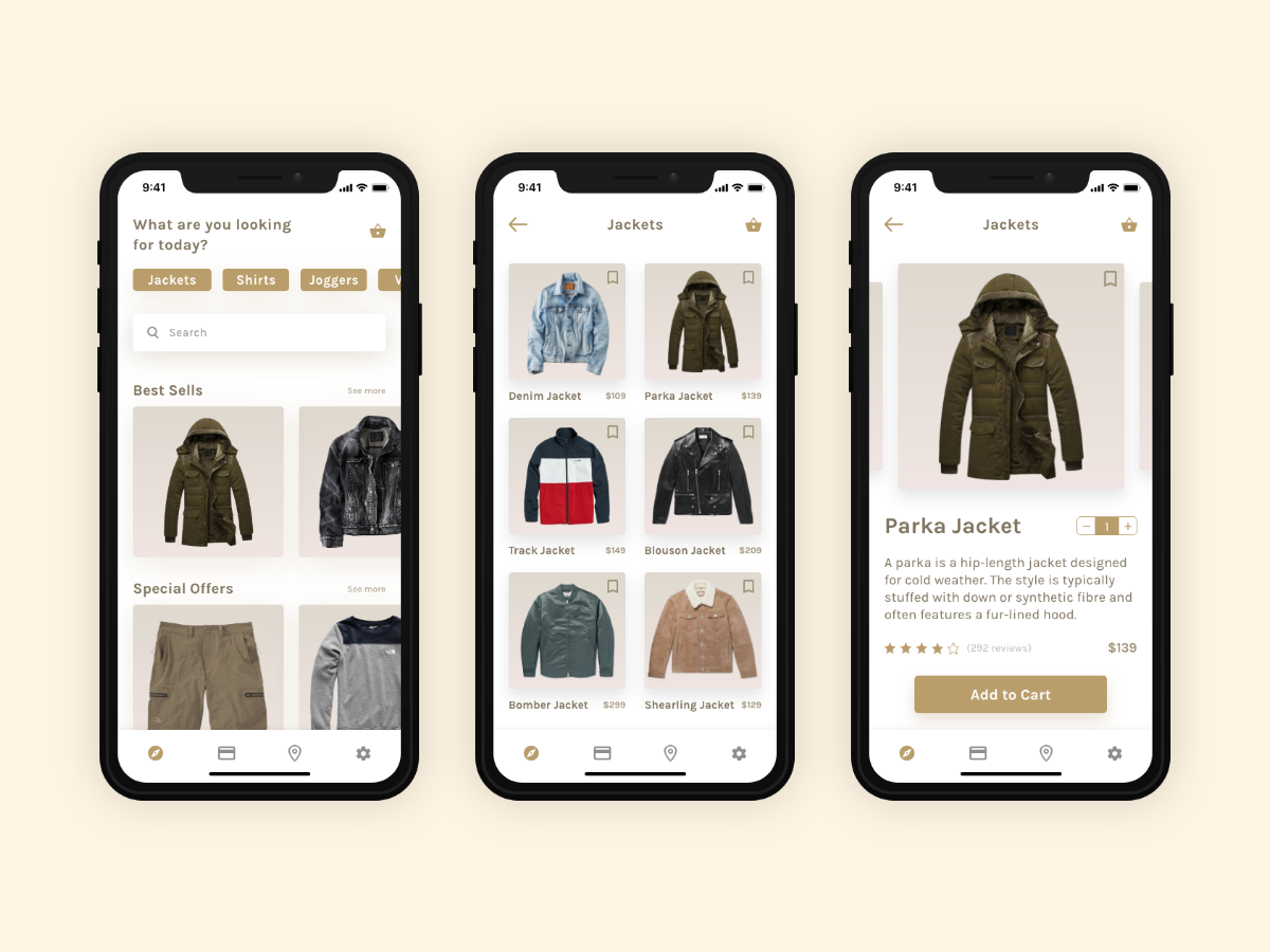New Wave Men S Fashion App By Al Tee Dribbble Dribbble