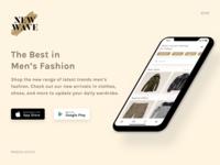 New Wave - Men's Fashion App