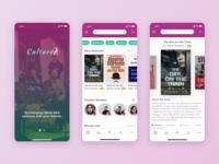 Cultured - iOS Book App