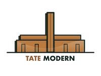 TATE Modern snapchat geofilter