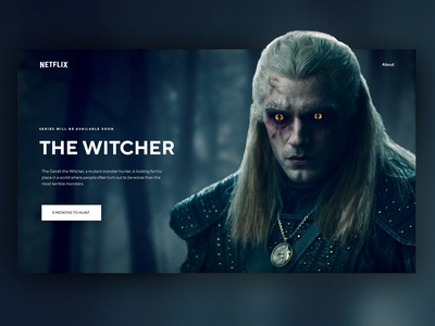 The Witcher Concept UI