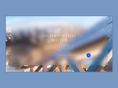 HOMELAND Architecture&Develompent Website ux. ui building architecture web