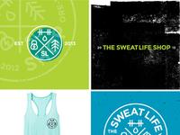 The Sweat Life Shop Mood Board