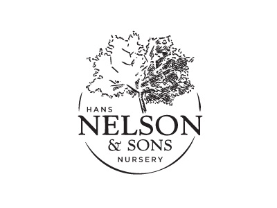 Proposed Nursery Logo A tree nature leaves family circular