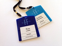 Fraud Force Summit, Acrylic Name Tags