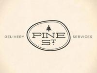 Pine Street Logo, Option C