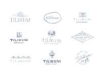Tilikum Logo Sketches