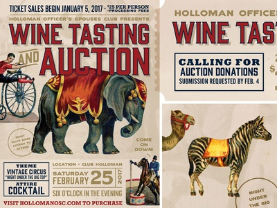 Night Under The Big Top, Wine Tasting & Auction