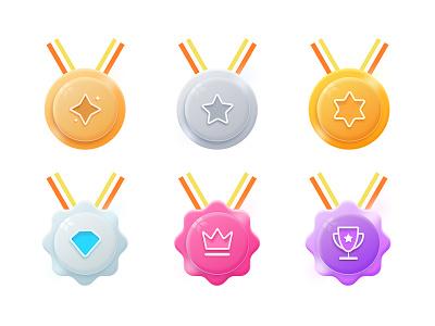 Membership level badge colour badge grade