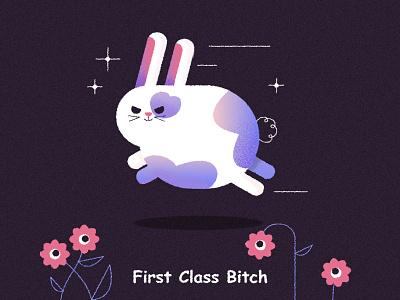 ୧  ⁰ ᴥ ⁰  ୨ cute bunny rabbit animal pet speed fast run rabbit bunny kidlit character design vector character texture illustrator illustration