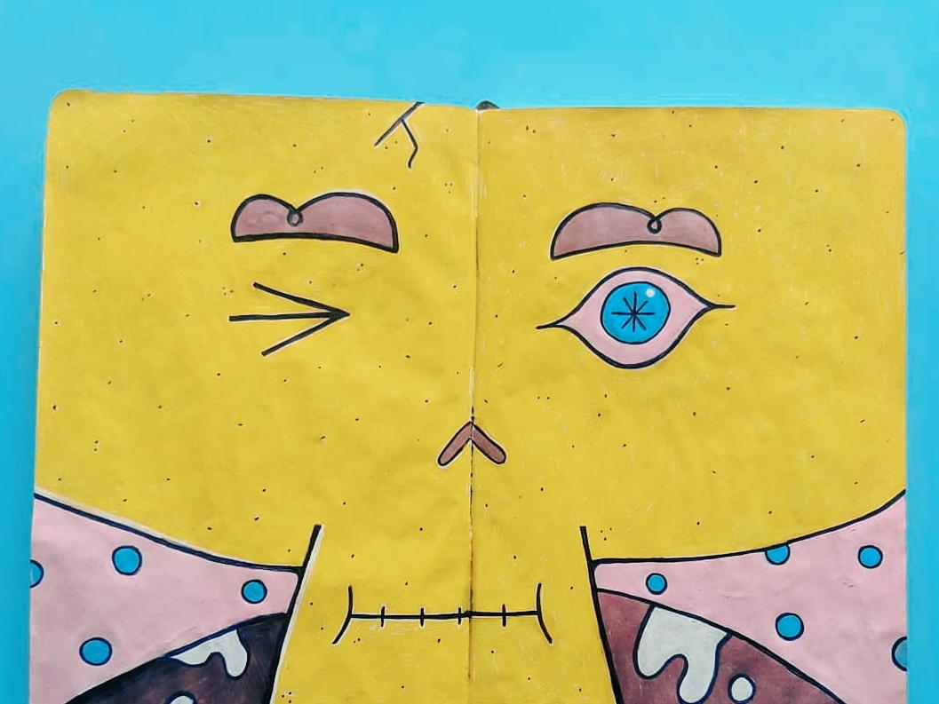⁞ ✿ •̀ ヮ •́ ✿ ⁞ character art character concept emotion face sketchbook character illustration