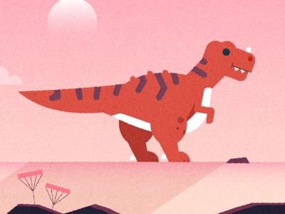 ʕง•ᴥ•ʔง jurassic tyrannosaurus rex tyrannosaurus t rex dino prehistoric design character design vector character illustrator texture illustration dinosuar
