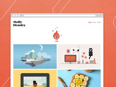 New Site! illustration rebrand website portfolio new site
