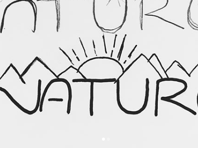 nature sketch doodle drawing design elements design typography lettering hand lettering