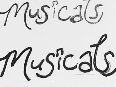 musicals typography sketch lettering hand lettering drawing doodle design elements design