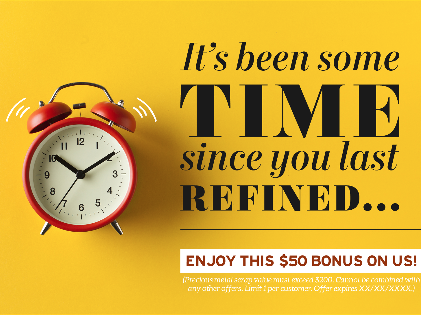 it's been some time... lost customer bright print design direct mail postcard design graphic design marketing design typography