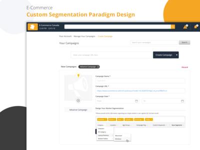 E-Commerce Market Segmentation Design