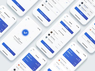 Split Payment App mobile app design mobile app ui design concept app card payment bill payment split bill payment split app split payment payment app