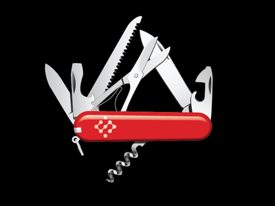 Swiss Vector Knife