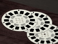 View-Master Disc Illustration