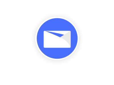 Aiko Mail App Icon 2020 modern logo icon modern client artificial intelligence email mail