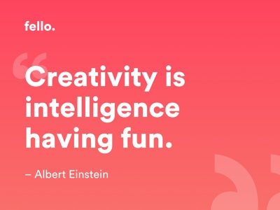 Albert Einstein Quote 💬 website flat vector typography minimal icon branding logo illustration app design ui ux quote