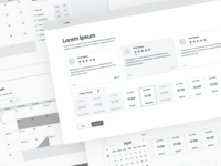User experience web wireframes