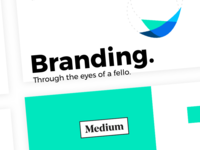 Branding: Through the eyes of a fello.