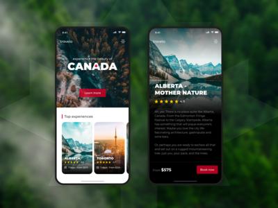 Canada Travel App 🇨🇦🌲