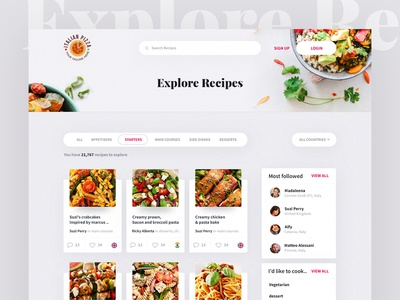Explore Recipes