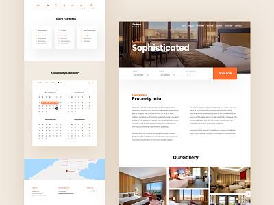 Rental Booking ui  ux website rental app home stay hotel booking room room booking booking rental
