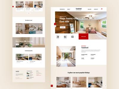 Rental Homepage