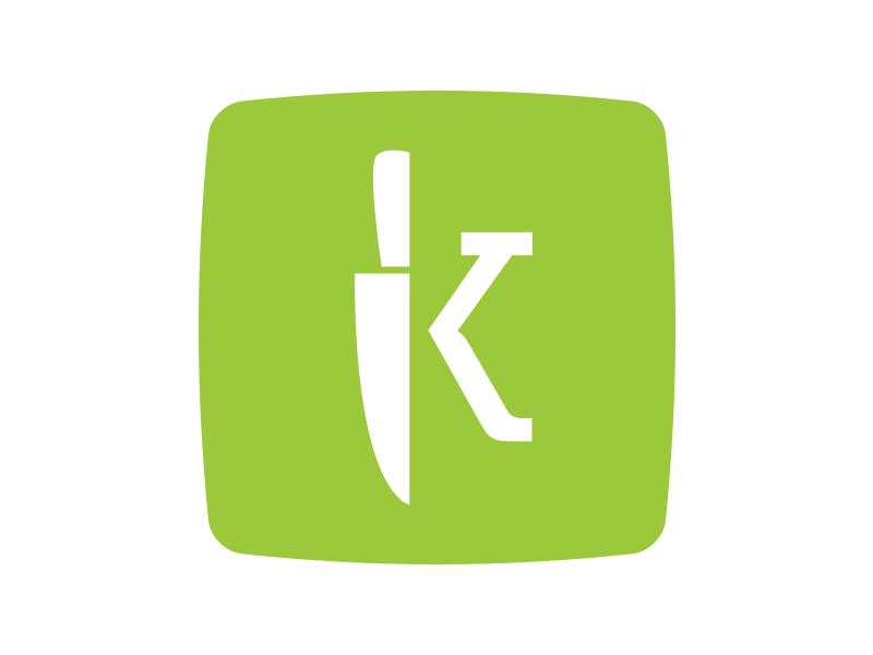 Kitchentime Logo logo kitchentime knife kitchen site ecommerce