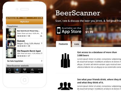 Beerscanner Site site app beerscanner beer scanner ios