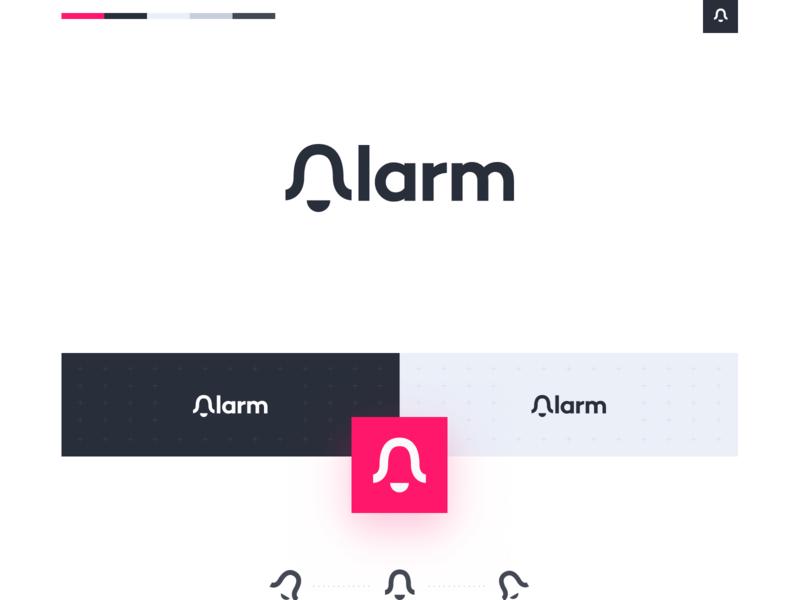 Alarm Logo ux ravinakum logo design ravinakum ravinakum bell icon logo alphabet ui alaram icon app icon branding vector ux logo design illustration