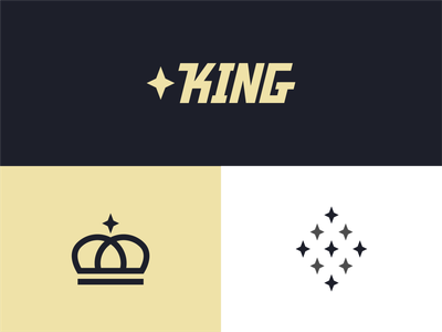 King of the Hill crowns kingdom queen royalty minimalism designer logo logos royal logo icon designer designs design star crown royal kings king