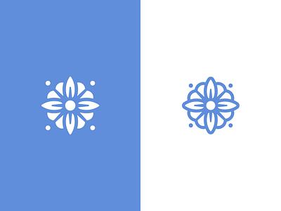 Casa Azul Marks branding design brand brands logodesign flower logo design mexican mexico flor flower azul fridakahlo frida casa azul