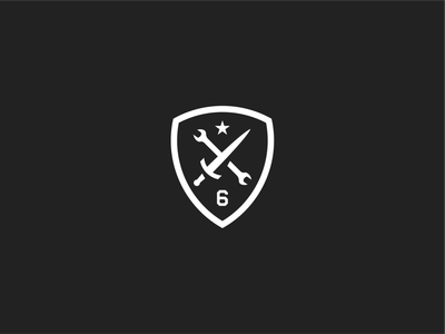 6-54th SFAB HSC design 54th sfab 54 sfab sfab army logo united states army military design shield star maintenance wrench dagger sword american patch crest logo army military