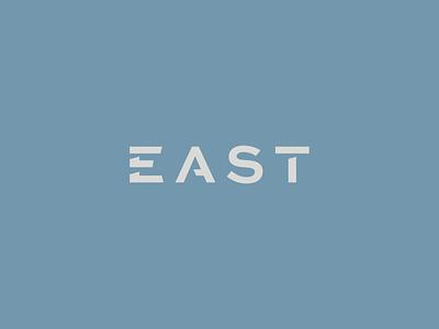 EAST Partnership sharp brand design logistical engineer asset management maintenance logistics engineering branding brand wordmark logos logo partnership east