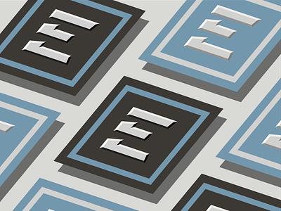 EAST Partnership Business Card typography logo design logo square business card letter e e east brand branding vector vector mockup printing print business card